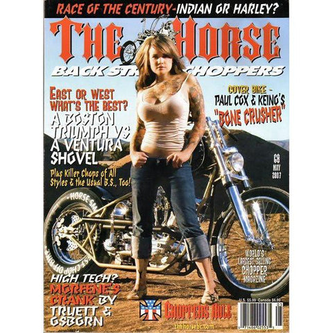 The Horse BackStreet Choppers Magazine Issue #68