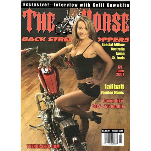 The Horse BackStreet Choppers Magazine Issue #69
