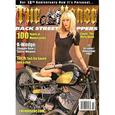 The Horse BackStreet Choppers Magazine Issue #72