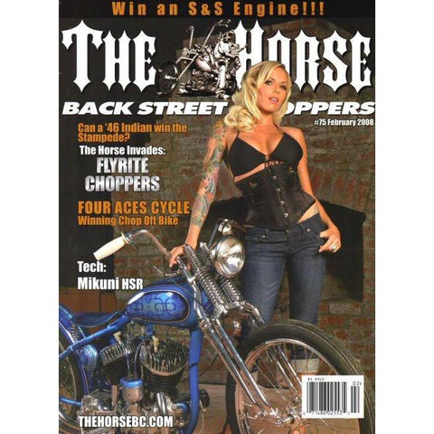 The Horse BackStreet Choppers Magazine Issue #75