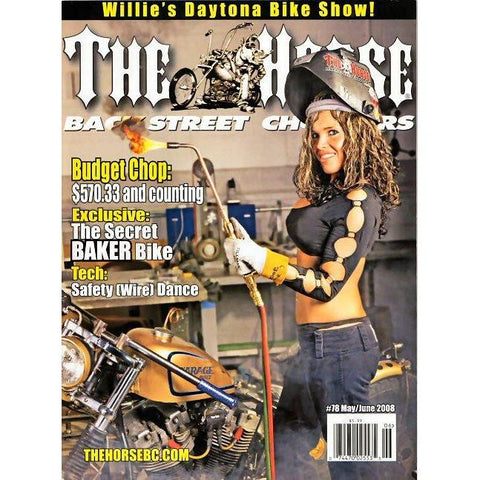 The Horse BackStreet Choppers Magazine Issue #78