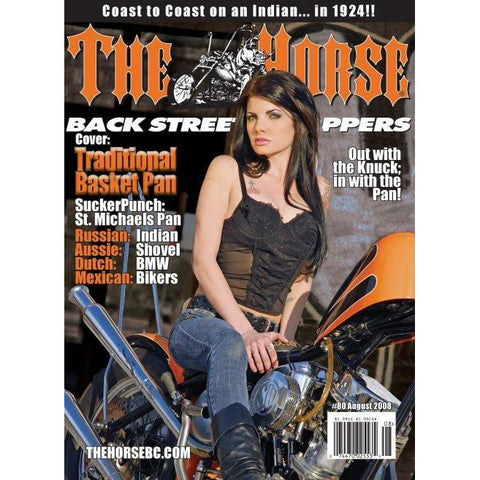 The Horse BackStreet Choppers Magazine Issue #80