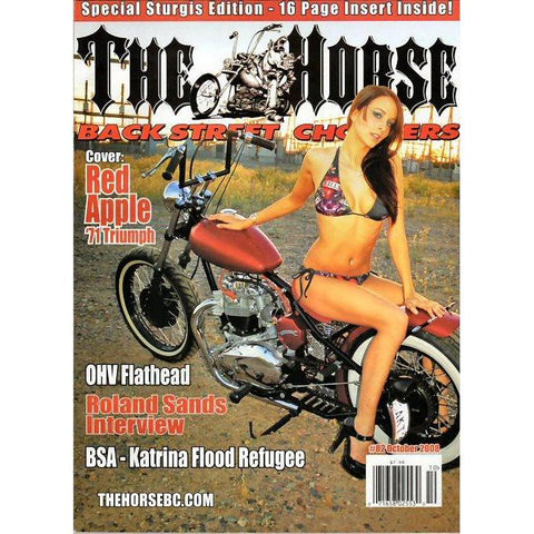 The Horse BackStreet Choppers Magazine Issue #82