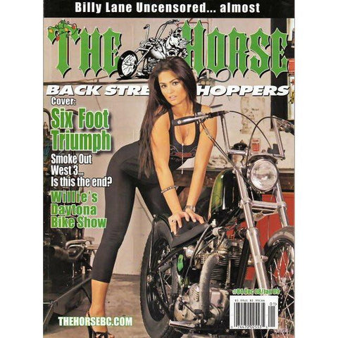 The Horse BackStreet Choppers Magazine Issue #84