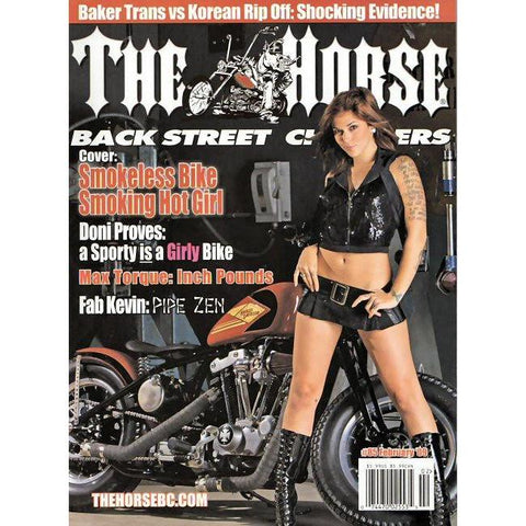 The Horse BackStreet Choppers Magazine Issue #85
