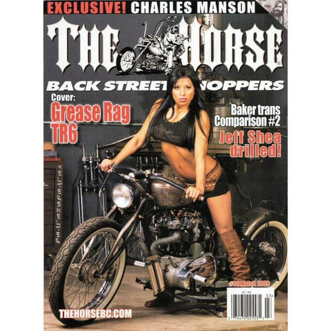 The Horse BackStreet Choppers Magazine Issue #86