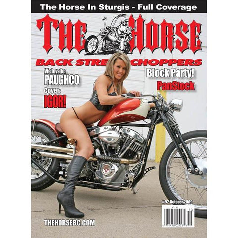 The Horse BackStreet Choppers Magazine Issue #92