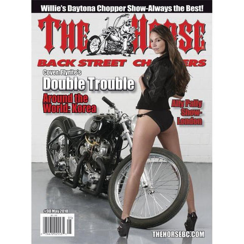 The Horse BackStreet Choppers Magazine Issue #98