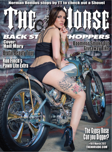 The Horse BackStreet Choppers Magazine Issue #171