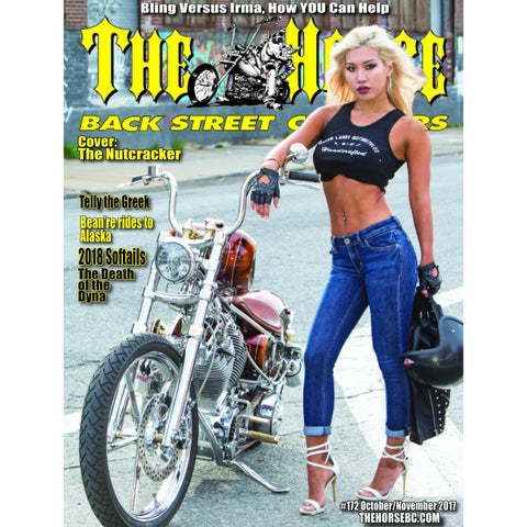 The Horse BackStreet Choppers Magazine Issue #172