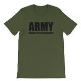 Military Nations First Responder T-shirt