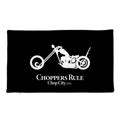 Choppers Rule Pillow Case