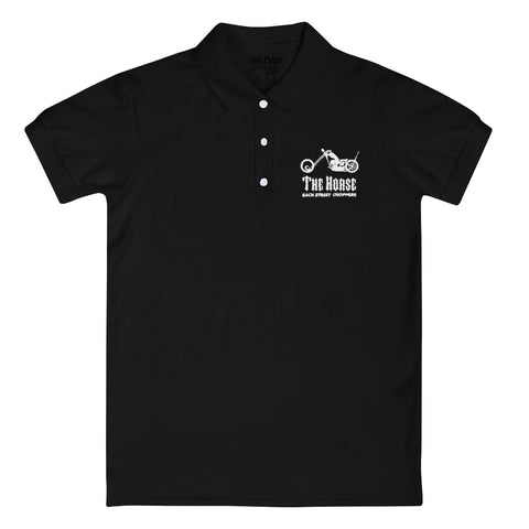 THBC Embroidered Women's Polo Shirt