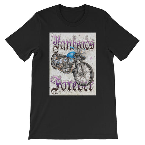 Panheads Forever T-shirt by Richie Pan