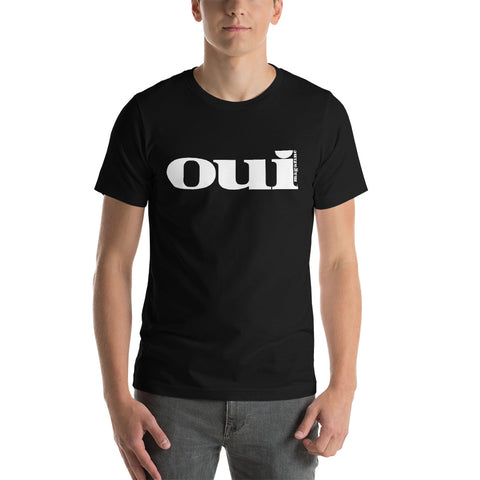 Oui Magazine Short-Sleeve Unisex T-Shirt