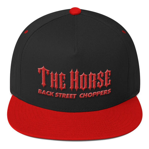 The Horse BC Flat Bill Cap