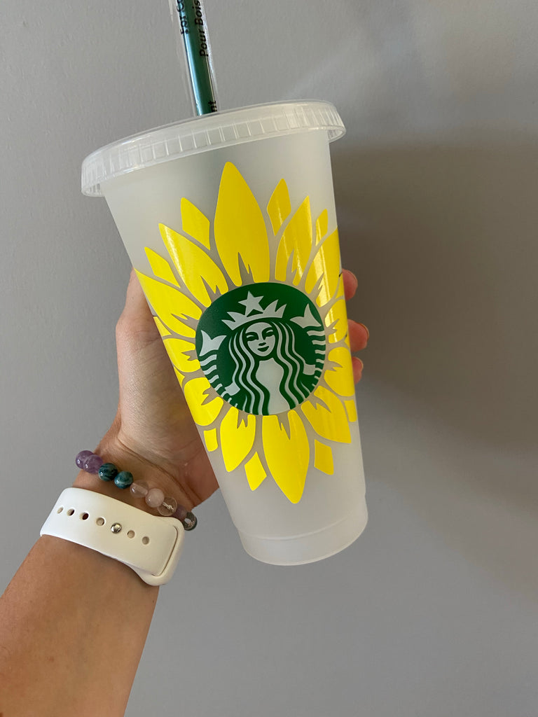 Sunflower Starbucks Reusable Cup!