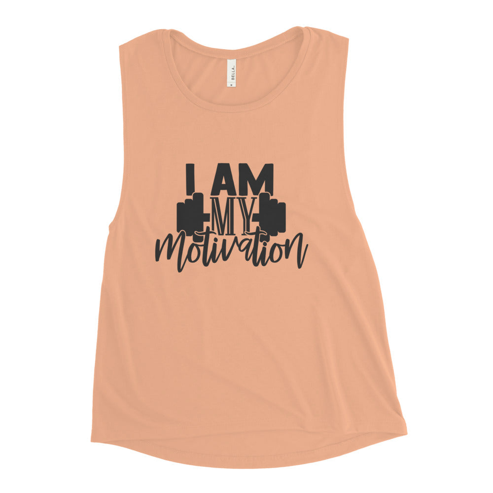 I Am My Motivation Women's Muscle Tank