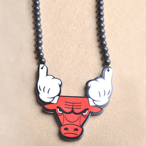 Bulls S Necklace