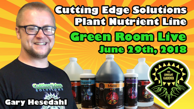 Green Room Live - Gary Hesedahl of Cutting Edge Solutions - June 29th