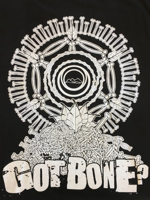 NFTG Shirt - GOT BONE? - Unisex Short Sleeve - BLACK