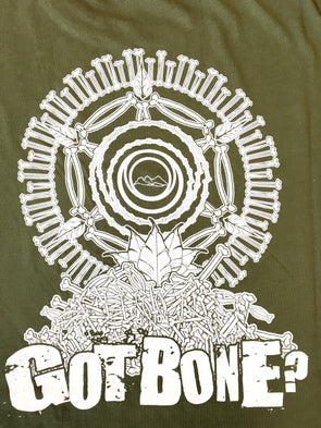 NFTG Shirt - GOT BONE? - Unisex Short Sleeve - GREEN
