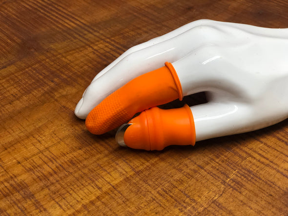 Silicone Garden Thumb Knife With Finger Protector