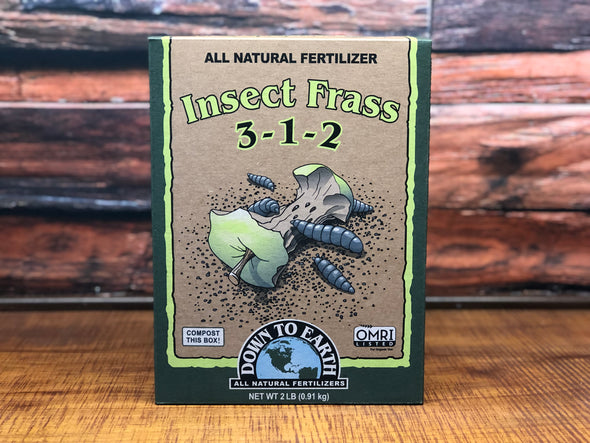 DTE Insect Frass 2 LB Box