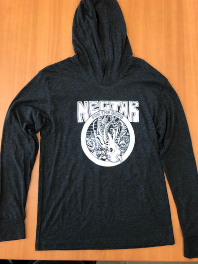 NFTG Shirt - Kraken - UNISEX Long Sleeve Hooded Shirt