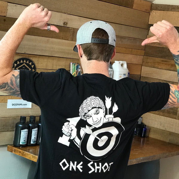 NFTG Shirt - ONE SHOT - Unisex Short Sleeve - BLACK