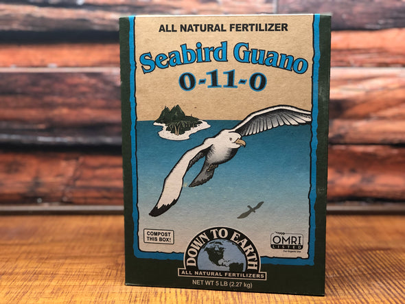 DTE Sea Bird Guano 5 LB Box