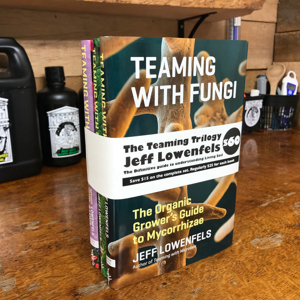 The Teaming Trilogy: The Teaming Series Books on Organic Growing - HARDCOVER (Signed by Jeff Lowenfels)