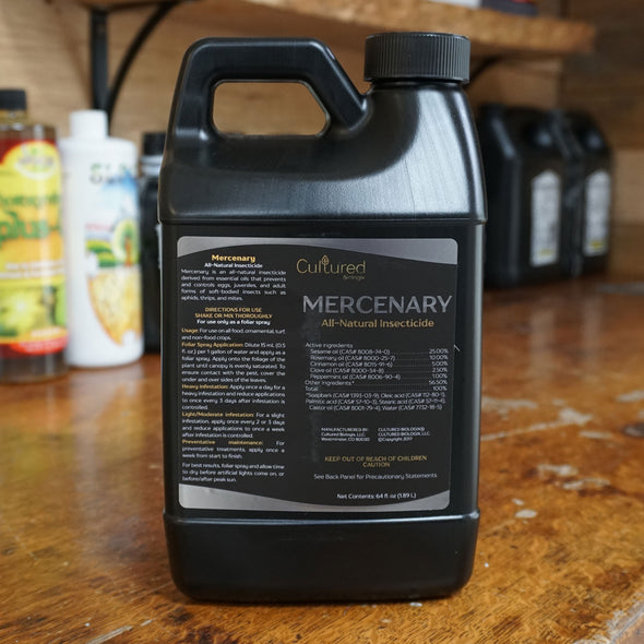 MERCENARY: All-Natural Insecticide