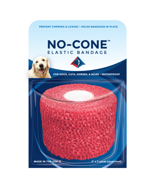 No-Cone Chewblocker Cohesive Vet Wrap