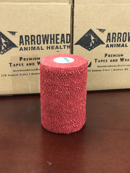 Arrow-Vet Co, Arrow Vet CO Chew Prevention | No-Chew Cohesive Veterinary Wrap, Mini-Pack, Case | Arrowhead Animal Health