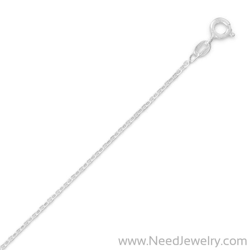 030 Open Cable Chain Necklace (1.5mm)-Chains-Needjewelry.com