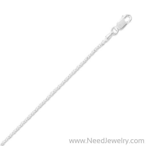 045 French Wheat Chain Necklace (1.8mm)-Chains-Needjewelry.com