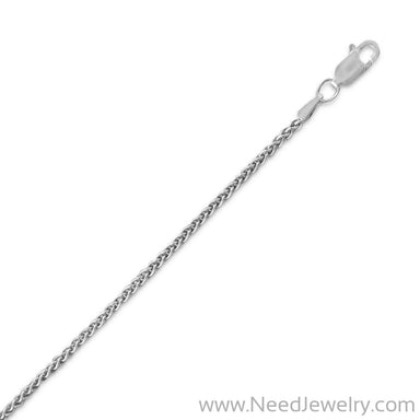 045 Oxidized French Wheat Chain (1.8mm)-Chains-Needjewelry.com