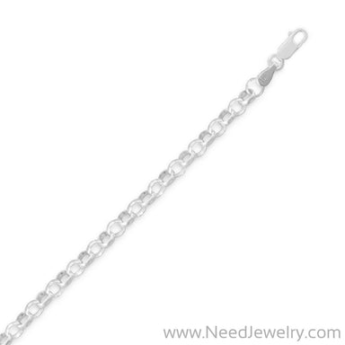 045 Rolo Chain Necklace (4mm)-Chains-Needjewelry.com