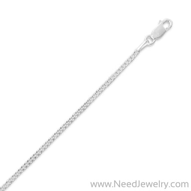 060 Curb Chain Necklace (2mm)-Chains-Needjewelry.com