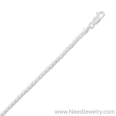 060 French Wheat Chain (2.5mm)-Chains-Needjewelry.com