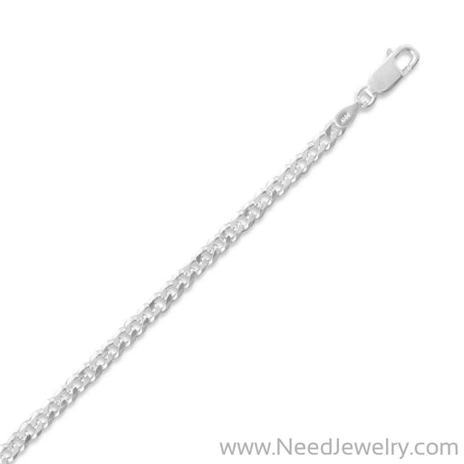 080 Curb Chain Necklace (3mm)-Chains-Needjewelry.com