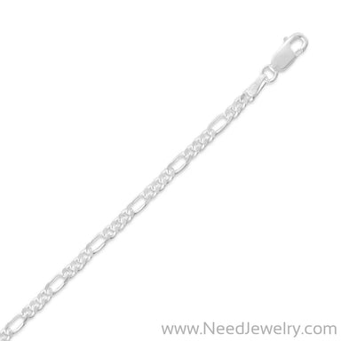080 Figaro Chain (2.8mm)-Chains-Needjewelry.com