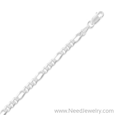 100 Figaro Chain (3.9mm)-Chains-Needjewelry.com