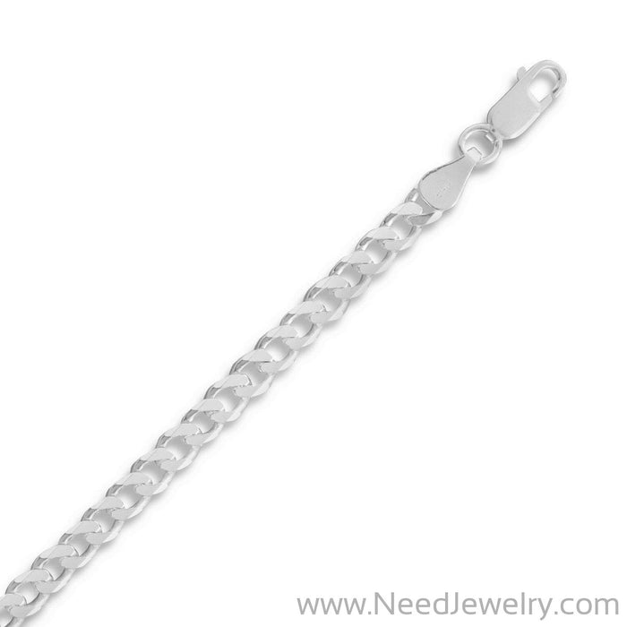 120 Beveled Curb Chain (4.4mm)-Chains-Needjewelry.com