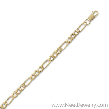 14/20 Gold Filled 100 Figaro Chain (3.6mm)-Chains-Needjewelry.com