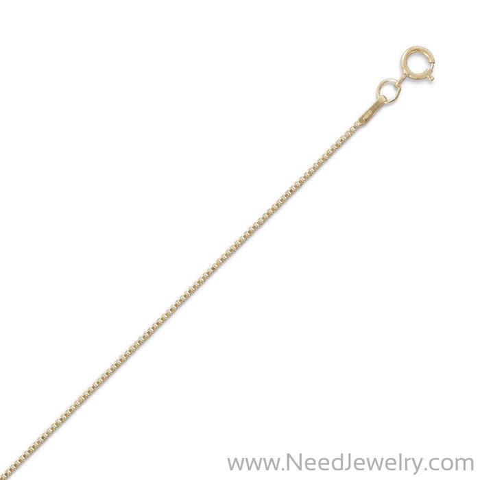 14/20 Gold Filled Box Chain (1mm)-Chains-Needjewelry.com