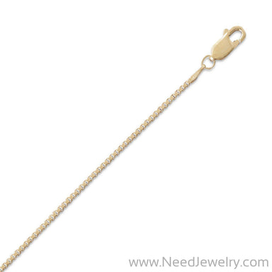 14/20 Gold Filled Box Chain Necklace (1.5mm)-Chains-Needjewelry.com