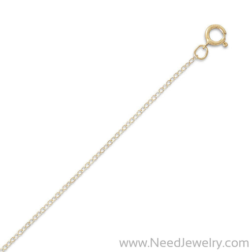 14/20 Gold Filled Cable Chain Necklace (1.5mm)-Chains-Needjewelry.com