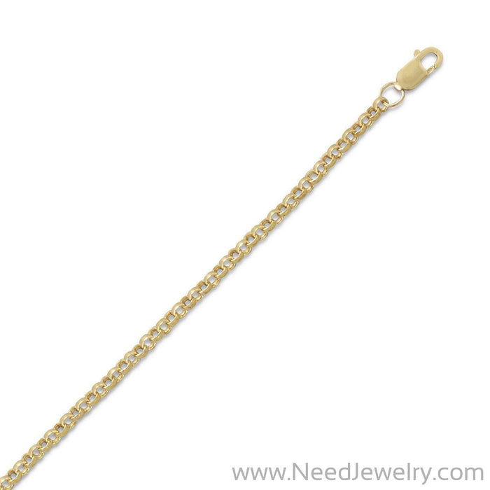 14/20 Gold Filled Rolo Chain (2.6mm)-Chains-Needjewelry.com